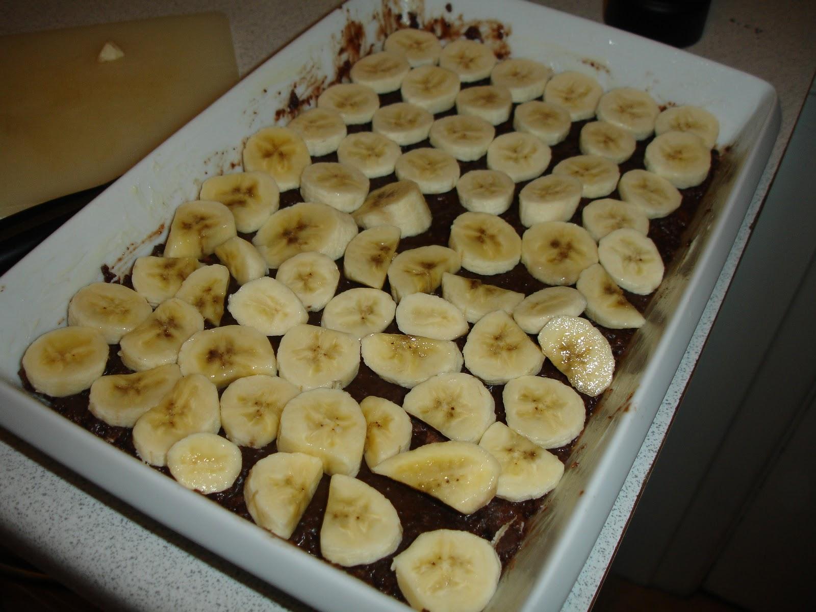 Chokolade-banoffee tærte