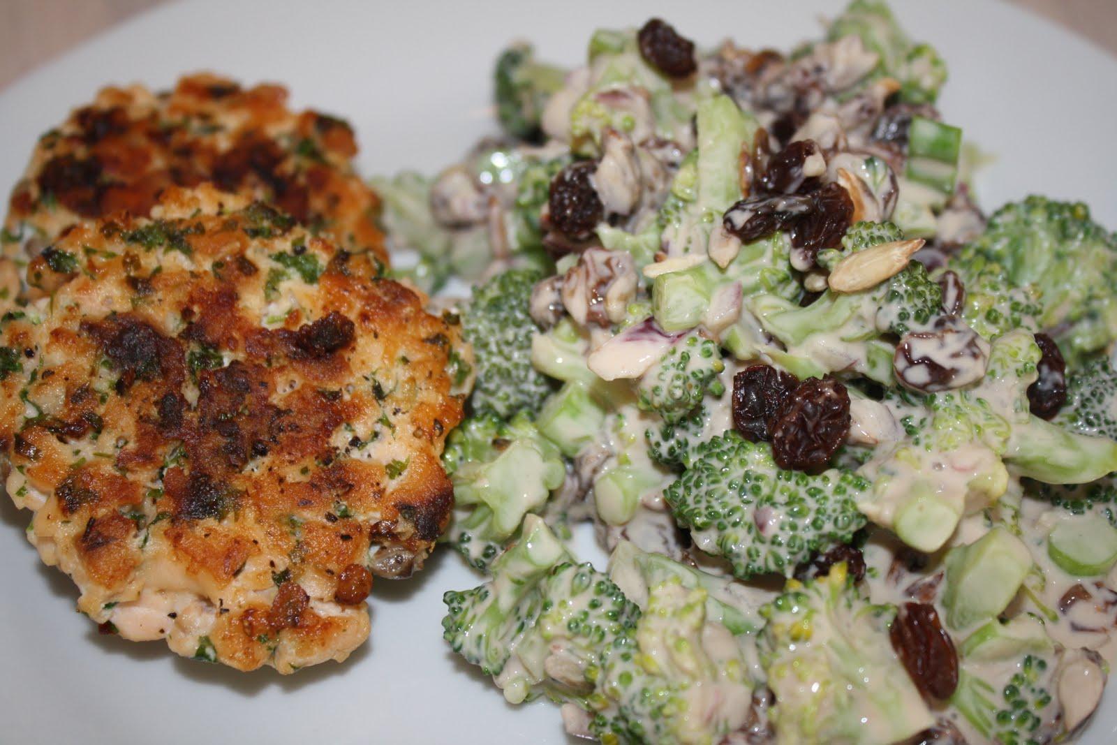 broccolisalat tilbehør