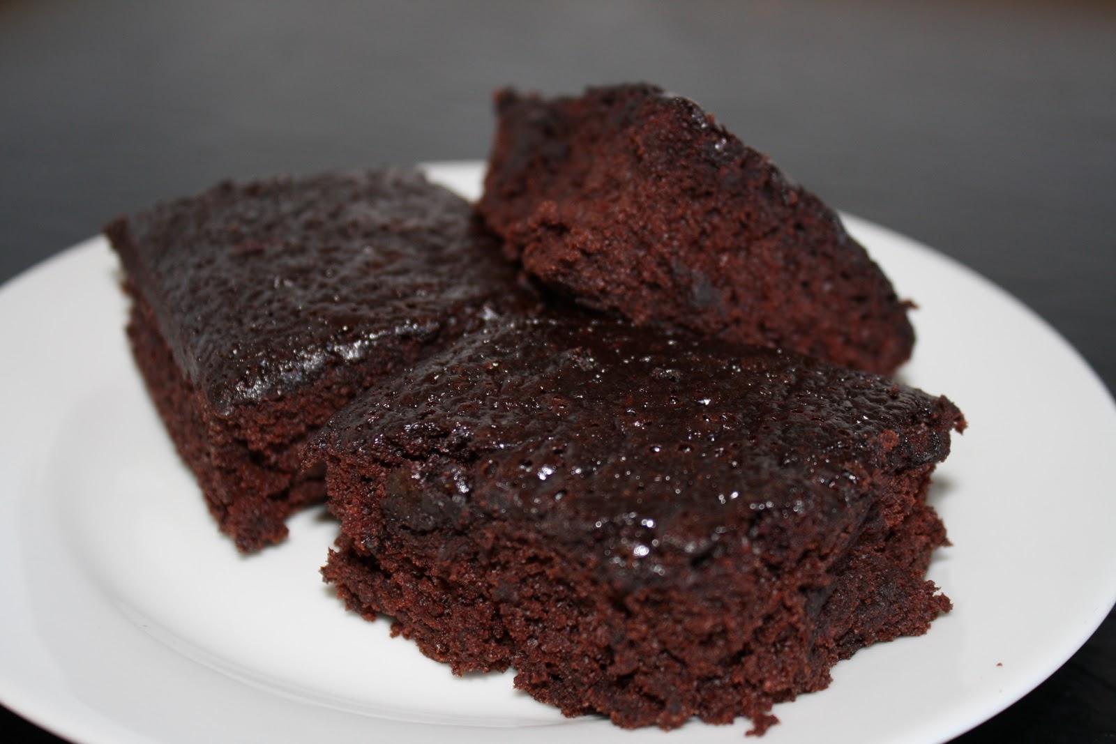 god svampet chokoladekage