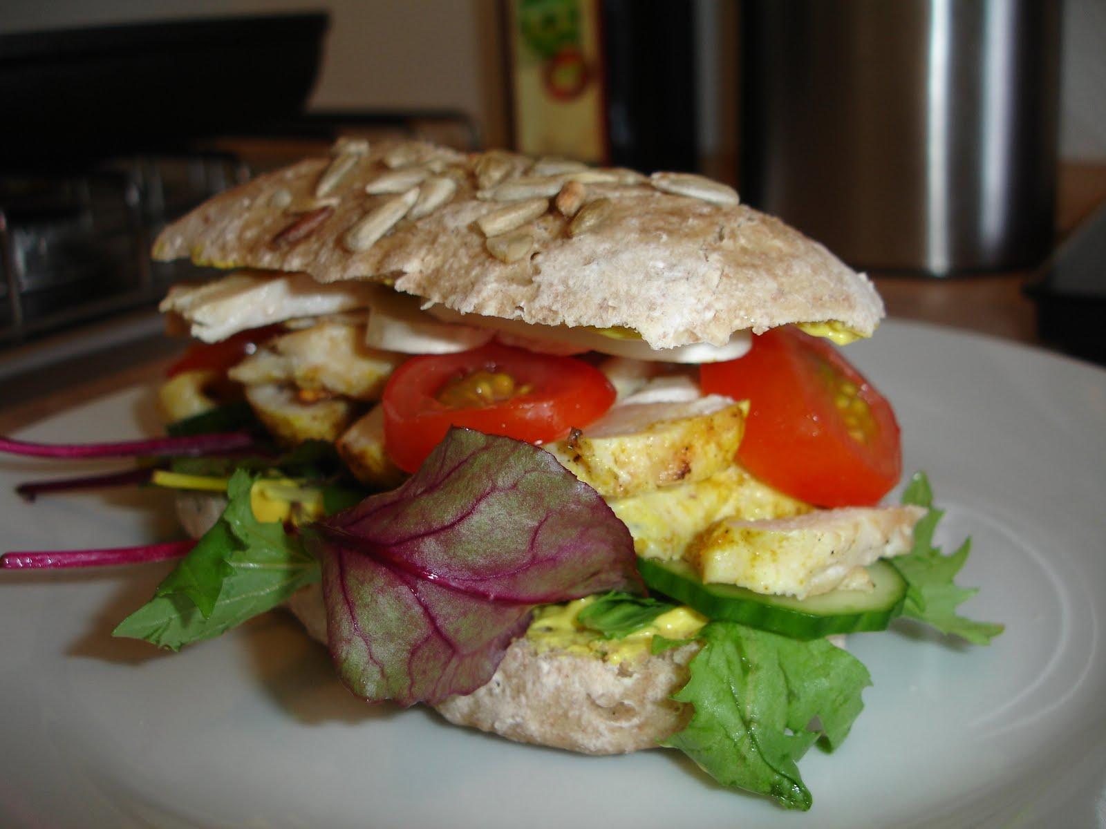 Sandwich med surdejsboller