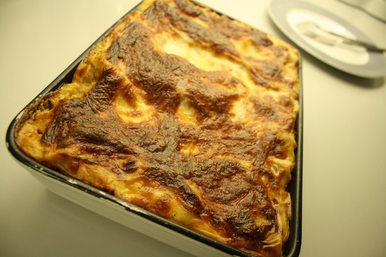 Opskrift på Super lækker vegetar lasagne