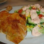 kyllingmedsalat