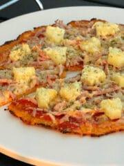 Gulerodsbund til pizza