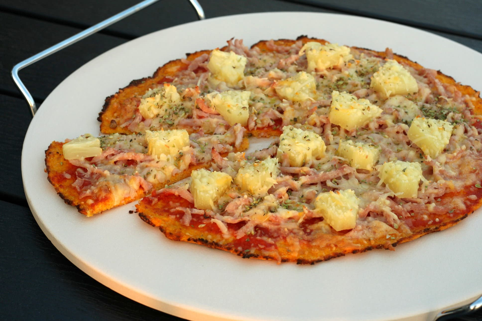 pizza med æg