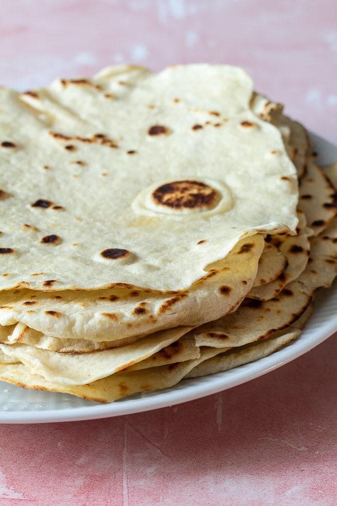 Opskrift på Tortilla wraps eller tortillapandekager