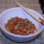Lækker thairet med svinekød