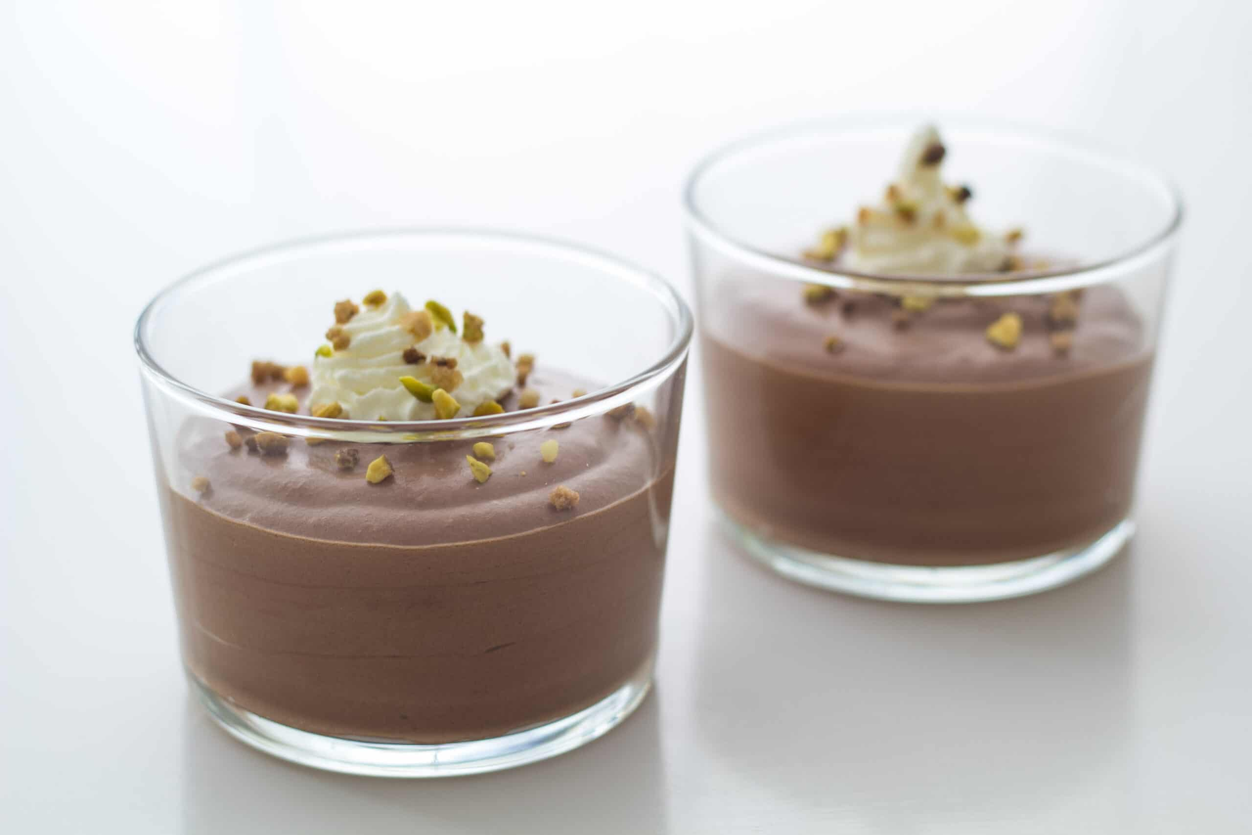 Chokolademousse uden husblas