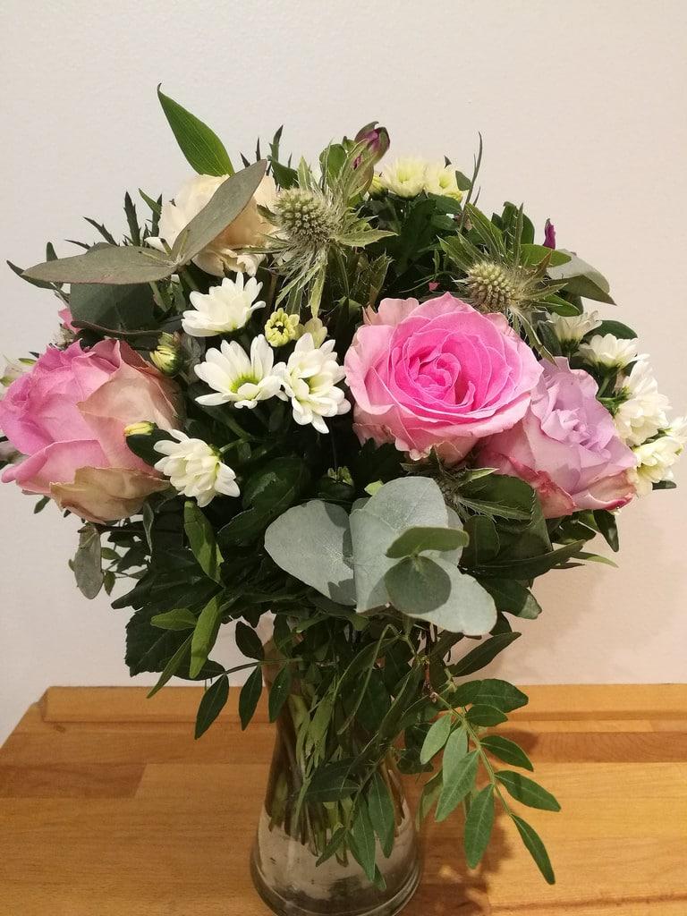 Giv blomster på Valentinsdag med rabat