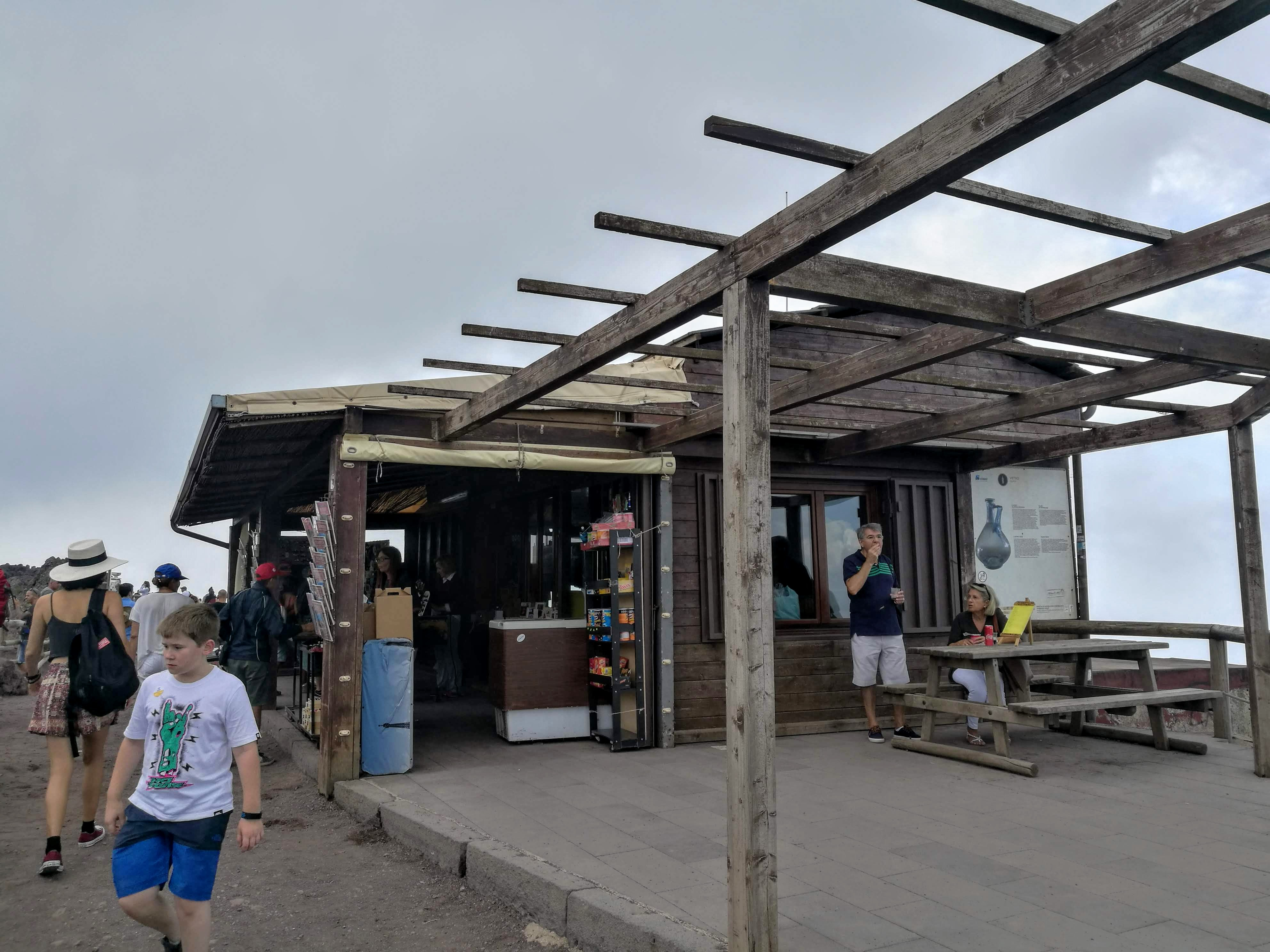 Vesuv - kiosk