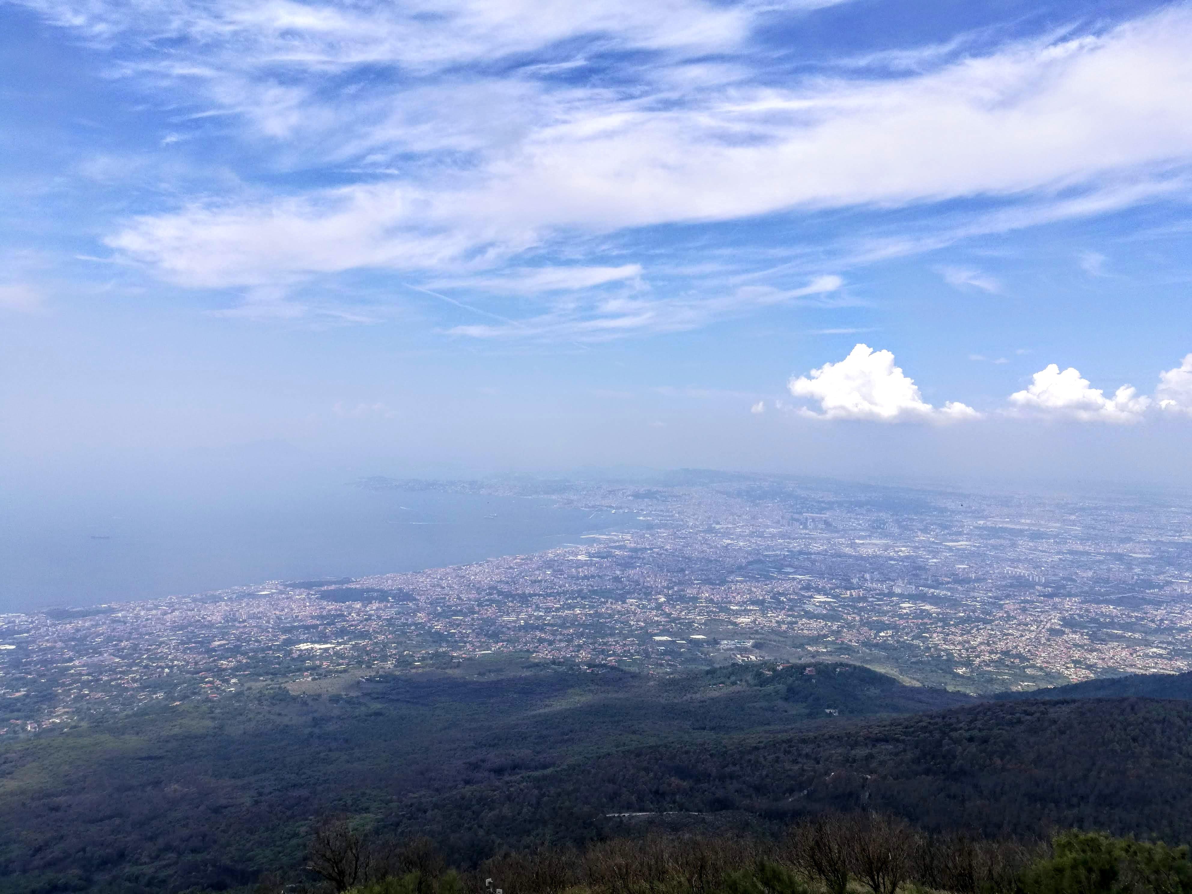 Udsigten fra Vesuv