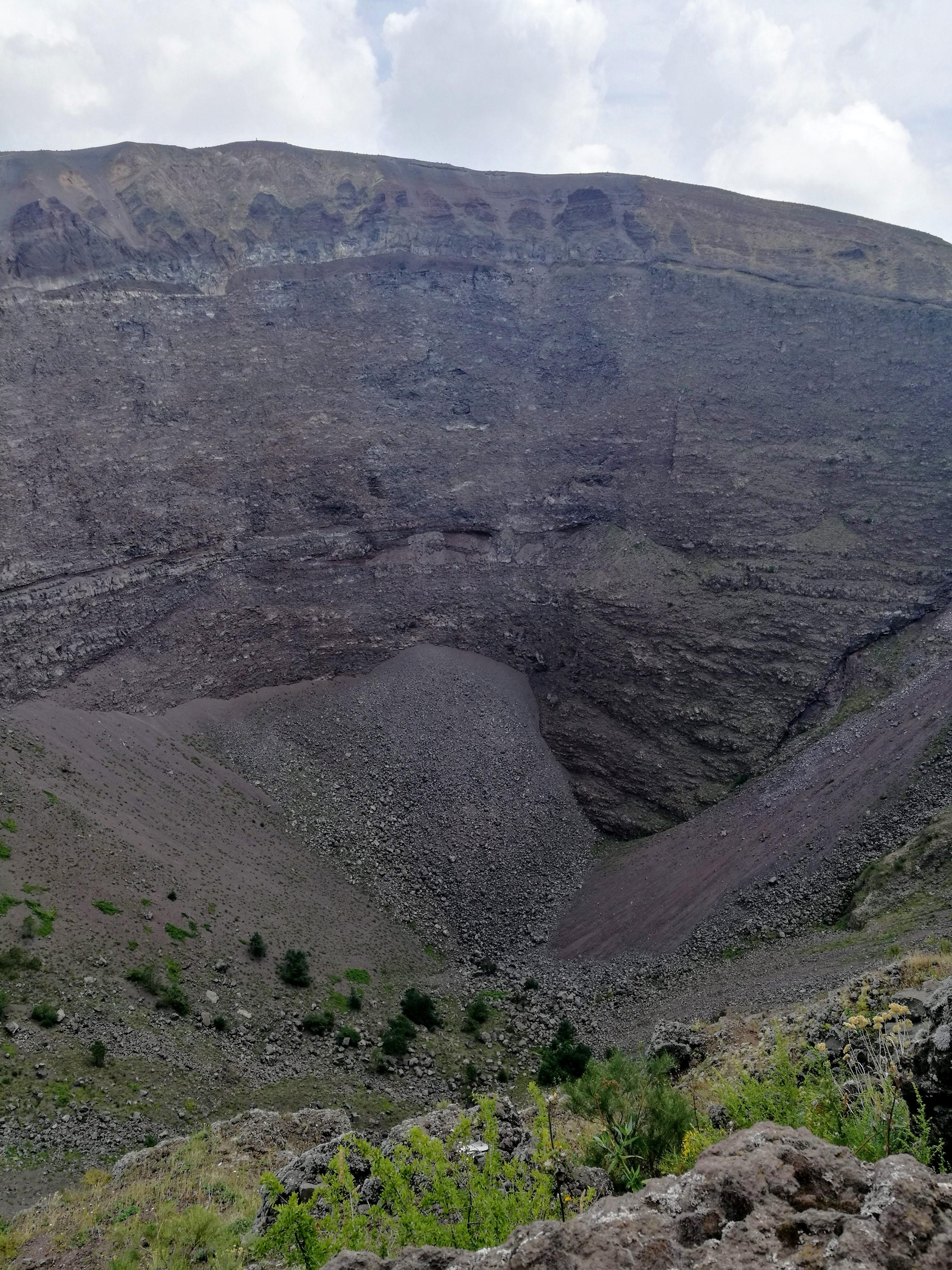 Vesuv - set fra oven