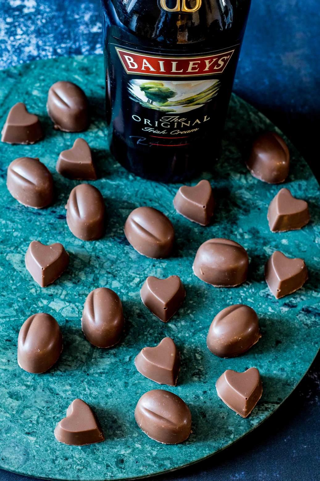 Trøffelkugler med Baileys (fyldte chokolader)