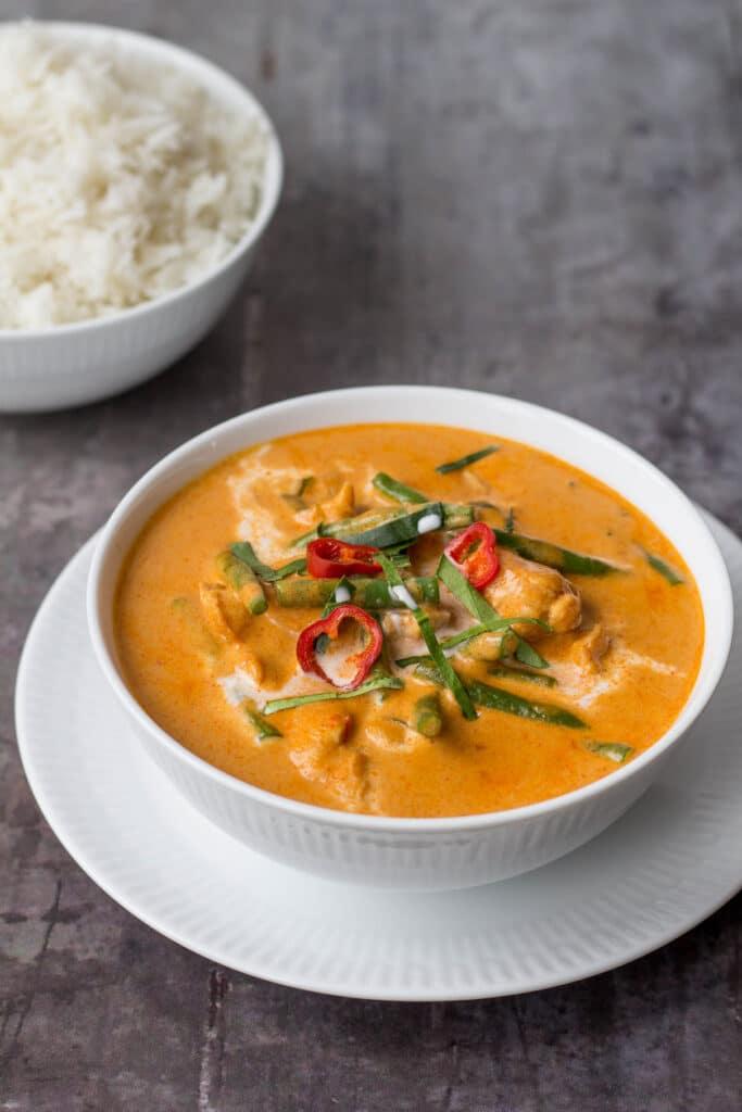 PANANG KARRY MED KYLLING PANANG GAI panang curry