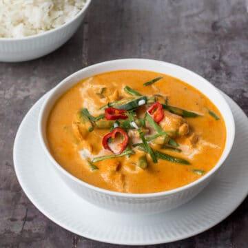 PANANG Curry MED KYLLING PANANG GAI panang curry