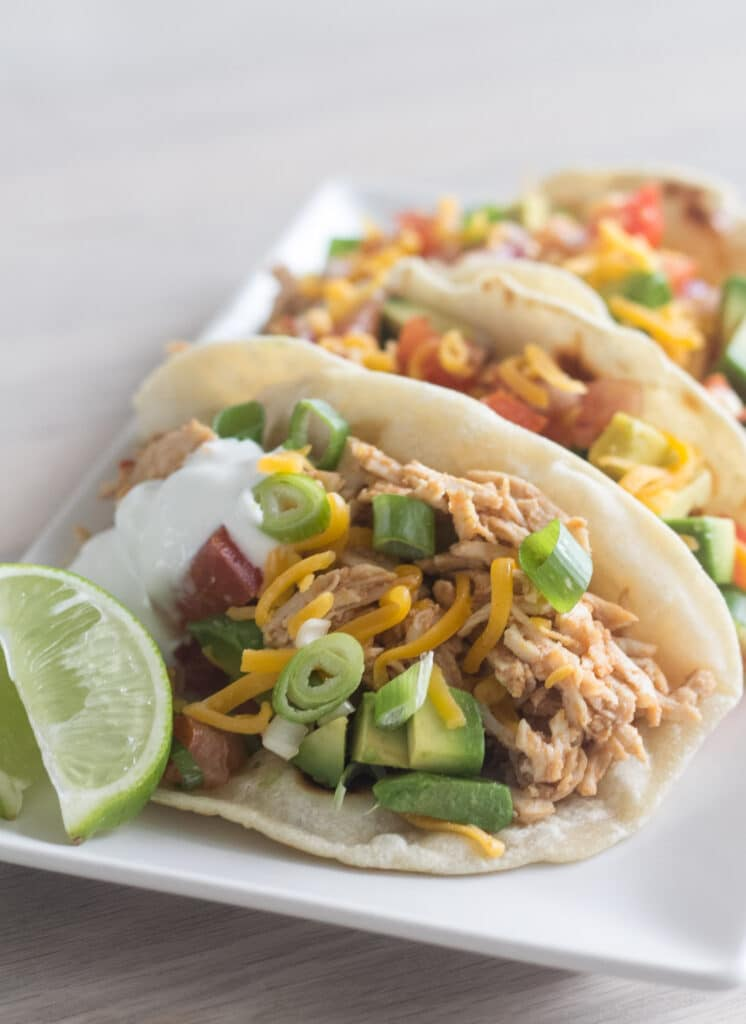 Tacos med pulled turkey