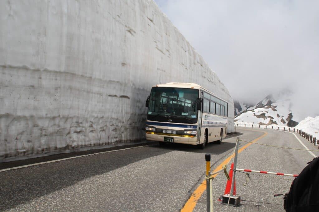 Tateyama Kurobe alpine route