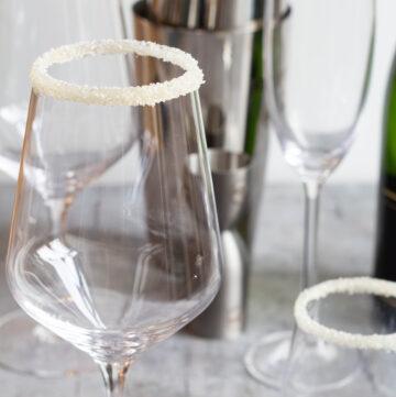 Flotte glas til drinks