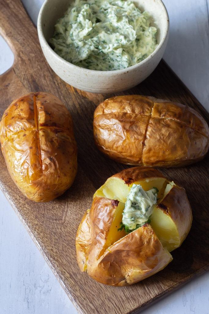 Bagekartofler - bagte kartofler - bagt kartoffel