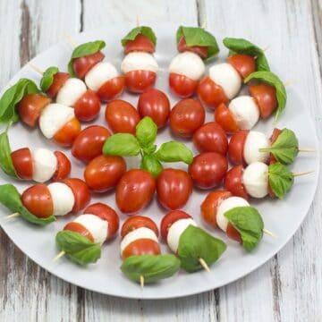 Tomat mozzarella spyd